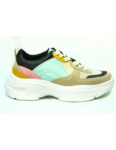 Zapato para Dama MOD:C80 Combinado